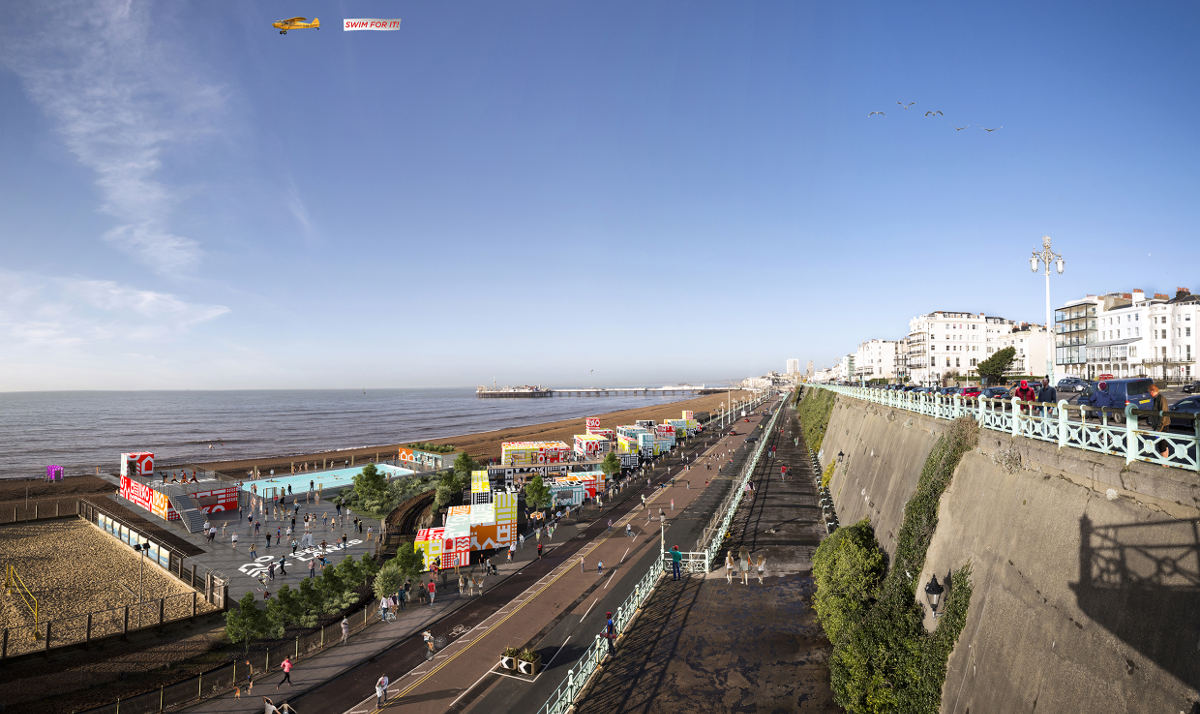 SEA LANES PROPOSALS FOR MADEIRA DRIVE PROJECT UNVEILED