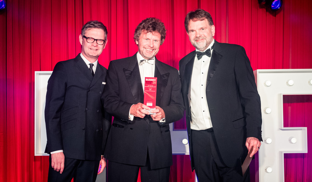 Innovative QED, win at the Sussex Business Awards